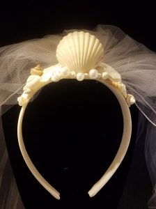 Head piece with Veil