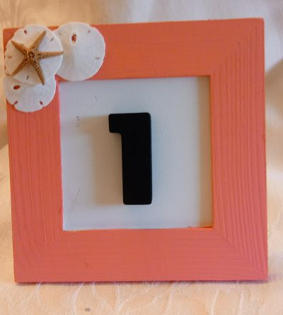 Wood Frame with Number