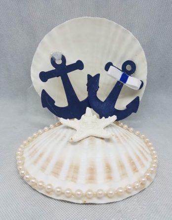 Scallop Cake Topper