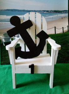 Adirondack Chair with Anchor