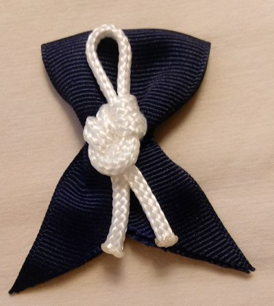 Ring Bearer Nautical Knot Boutonniere