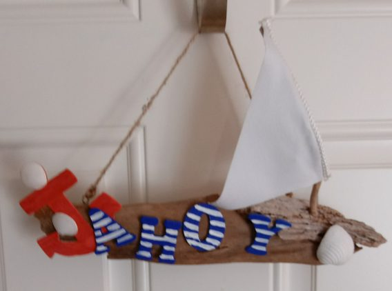 AHOY Wall Hanging