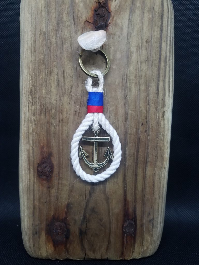 Nautical Rope Keychain
