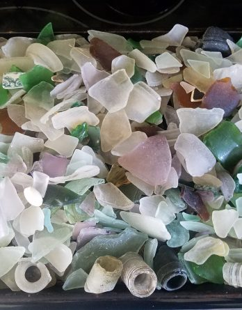assorted seaglass