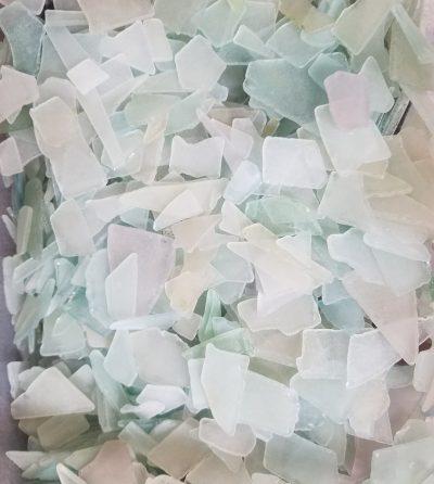Seaglass 1LB - Mosaic Pastel