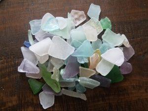 Seaglass 1LB - Mosaic (Flat) Pastels